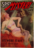 Pulps:Horror, Spicy Mystery Stories - February 1938 (Culture) Condition: VG/FN....