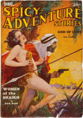Pulps:Adventure, Spicy Adventure Stories - December 1934 (Culture) Condition: FN-....