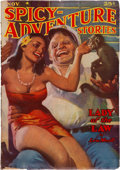 Pulps:Adventure, Spicy Adventure Stories - November 1938 (Culture) Condition: VG+....