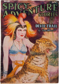 Pulps:Adventure, Spicy Adventure Stories - March 1937 (Culture) Condition: FN-....
