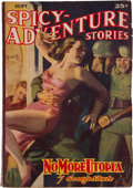 Pulps:Adventure, Spicy Adventure Stories - September 1940 (Culture) Condition: FN-....