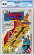 Silver Age (1956-1969):Superhero, Action Comics #234 (DC, 1957) CGC VF 8.0 White pages....