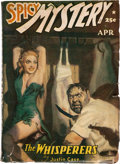 Pulps:Horror, Spicy Mystery Stories - April 1942 (Culture) Condition: VG-....