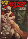 Pulps:Horror, Spicy Mystery Stories - December 1939 (Culture) Condition: FN-....