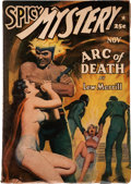 Pulps:Horror, Spicy Mystery Stories - November 1941 (Culture) Condition: VG....
