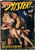 Pulps:Horror, Spicy Mystery Stories - December 1941 (Culture) Condition: VG-....