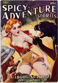 Pulps:Adventure, Spicy Adventure Stories - December 1935(Culture) Condition: VG/FN....
