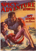 Pulps:Adventure, Spicy Adventure Stories - October 1937 (Culture) Condition: FN-....