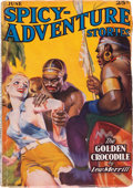 Pulps:Horror, Spicy Adventure Stories - June 1937 (Culture) Condition: VG....