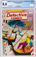 Silver Age (1956-1969):Superhero, Detective Comics #248 (DC, 1957) CGC VF 8.0 White pages....