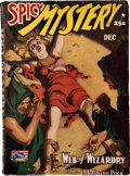 Pulps:Horror, Spicy Mystery Stories - December 1942 (Culture) Condition: VG/FN....