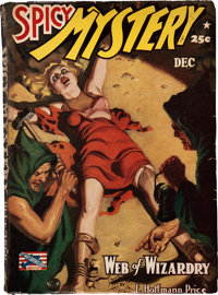Spicy Mystery Stories - December 1942 (Culture) Condition: VG/FN