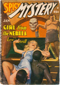 Pulps:Horror, Spicy Mystery Stories - January 1942 (Culture) Condition: VG-....
