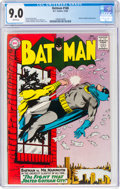 Silver Age (1956-1969):Superhero, Batman #168 (DC, 1964) CGC VF/NM 9.0 White pages....