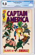 Silver Age (1956-1969):Superhero, Captain America #104 (Marvel, 1968) CGC VF/NM 9.0 White pages....