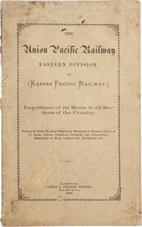 [Transportation]. The Union Pacific Railway, Eastern Division, or (Kansas Pacific Railway.)