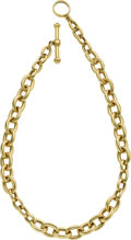 Estate Jewelry:Necklaces, Gold Necklace, Kieselstein-Cord. ...