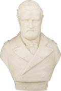 Political:3D & Other Display (pre-1896), Ulysses S. Grant: Parian Bust.. ...