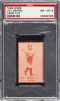Baseball Cards:Singles (Pre-1930), 1928 W565 Lou Gehrig PSA NM-MT 8....