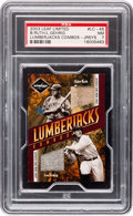 Baseball Cards:Singles (1970-Now), 2003 Leaf Limited Lumberjacks Combo Jerseys Ruth/Gehrig #LC-45 PSA NM 7 - #'d 3/5...