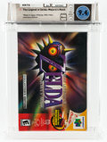 Video Games:Nintendo, The Legend of Zelda: Majora's Mask (N64, Nintendo, 2000, USA) Wata 9.4 A++ (Seal Rating) Variant: Collector's Edition....