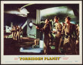 """Movie Posters:Science Fiction, Forbidden Planet (MGM, 1956). Very Fine-. Lobby Card (11"""" X 14"""").Science Fiction.. ..."""
