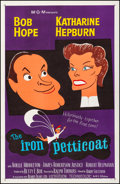 "Movie Posters:Comedy, The Iron Petticoat (MGM, 1956). Very Fine- on Linen. One Sheet (27""X 41.5""). Comedy.. ..."