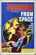 """Movie Posters:Science Fiction, Phantom from Space (United Artists, 1953). Folded, Fine/Very Fine.One Sheet (27"""" X 41""""). Science Fiction.. ..."""