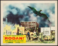 "Movie Posters:Science Fiction, Rodan! The Flying Monster (Toho / RKO, 1957). Very Fine-. Lobby Card (11"" X 14""). Science Fiction.. ..."