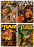Pulps:Adventure, Doc Savage and Others Pulp Group of 13 (Various Publishers, 1937-47) Condition: Average FR.... (Total: 13 Comic Books)