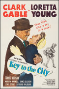 """Movie Posters:Comedy, Key to the City (MGM, 1950). Fine/Very Fine on Linen. One Sheet(27"""" X 41""""). Comedy. From the Collection of Frank Buxton,..."""