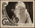 """Movie Posters:Serial, The Return of Chandu (Principal Distributing, 1934). Very Fine.Lobby Card (11"""" X 14"""") Chapter 12 -- """"The Knife Descends."""" S..."""