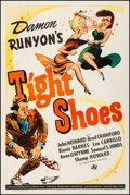 """Movie Posters:Comedy, Tight Shoes (Universal, 1941). Fine/Very Fine on Linen. One Sheet(27.25"""" X 41""""). Comedy. From the Collection of Frank Bux..."""