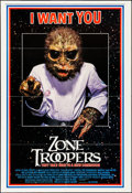 """Movie Posters:Science Fiction, Zone Troopers (Empire, 1986). Folded, Very Fine. One Sheet (28"""" X41""""). """"I Want You"""" Style. Science Fiction.. ..."""