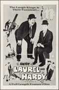 """Movie Posters:Comedy, The Best of Laurel and Hardy & Other Lot (U-M Film, R-1970s).Folded, Very Fine. One Sheets (2) (27"""" X 41""""). Comedy.. ... (Total:2 Items)"""