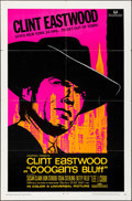 """Movie Posters:Crime, Coogan's Bluff (Universal, 1968). Folded, Very Fine-. One Sheet(27"""" X 41""""). Crime.. ..."""