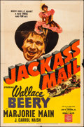 "Movie Posters:Western, Jackass Mail (MGM, 1942). Folded, Fine+. One Sheet (27"" X 41"").Western.. ..."