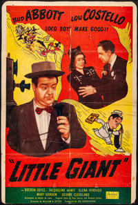 "Little Giant (Realart, R-1951). Very Good- on Cardstock. Trimmed One Sheet (26.25"" X 39.25""). Comedy"