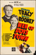 "Movie Posters:Drama, Men of Boys Town (MGM, 1941). Folded, Fine+. One Sheet (27"" X 41"")Style D. Drama.. ..."