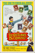 "Movie Posters:Comedy, The Outlaws is Coming (Columbia, 1965). Folded, Very Fine. OneSheet (27"" X 41""). Comedy.. ..."