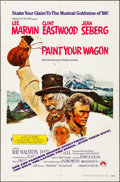 """Movie Posters:Musical, Paint Your Wagon (Paramount, 1969). Folded, Very Fine-. One Sheet(27"""" X 41""""). Musical.. ..."""