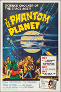 """Movie Posters:Science Fiction, The Phantom Planet (Four Crown, 1962). Folded, Very Fine. One Sheet(27"""" X 41""""). Science Fiction.. ..."""