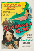 """Movie Posters:War, Guerrilla Girl (United Artists, 1953). Fine/Very Fine on Linen. OneSheet (27.75"""" X 41""""). War. From the Collection of Fran..."""