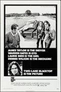 "Movie Posters:Drama, Two-Lane Blacktop (Universal, 1971). Folded, Very Fine. One Sheet(27"" X 41""). Drama.. ..."