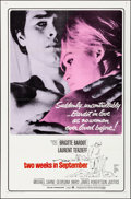 "Movie Posters:Foreign, Two Weeks in September (Paramount, 1967). Folded, Very Fine. OneSheet (27"" X 41""). Foreign.. ..."
