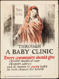 """Movie Posters:War, Health Posters (National Child Welfare Association, 1910s). Rolled,Fine+. Posters (2) (20.5"""" X 27.5""""). War.. ... (Total: 2 Items)"""