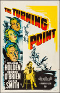 """Movie Posters:Film Noir, The Turning Point (Paramount, 1952). Folded, Very Fine-. One Sheet(27"""" X 41""""). Film Noir.. ..."""