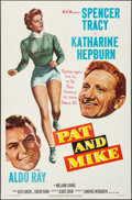 """Movie Posters:Comedy, Pat and Mike (MGM, 1952). Folded, Very Fine. One Sheet (27"""" X 41"""").Comedy.. ..."""