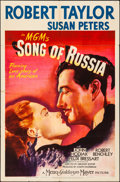 """Movie Posters:War, Song of Russia (MGM, 1944). Folded, Fine. One Sheet (27"""" X 41"""").War.. ..."""