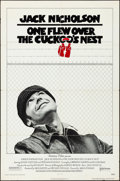 "Movie Posters:Academy Award Winners, One Flew Over the Cuckoo's Nest (United Artists, 1975). Folded, Fine/Very Fine. One Sheet (27"" X 41""). Academy Award Winners..."